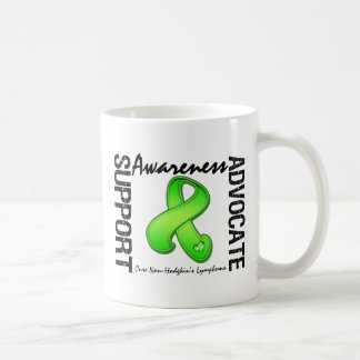 Support Awareness Advocate Non-Hodgkin's Lymphoma Classic White Coffee Mug