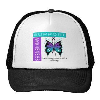 Support Awareness Domestic Violence Sexual Assault Trucker Hat