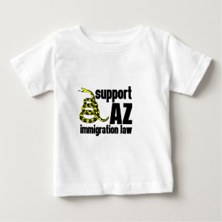 support AZ immigration law Baby T-Shirt