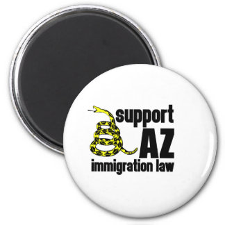support AZ immigration law Magnet