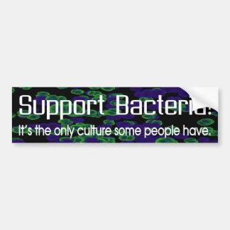 Support Bacteria Bumper Sticker
