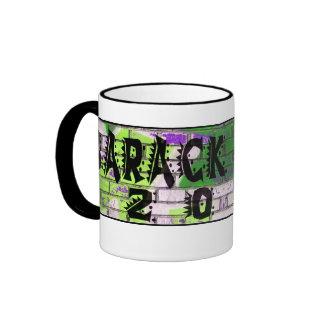 Support Barack Obama 2012 Ringer Coffee Mug