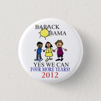 Support Barack Obama Election Buttons