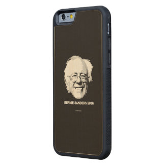Support Bernie Sanders 2016 Carved® Maple iPhone 6 Bumper