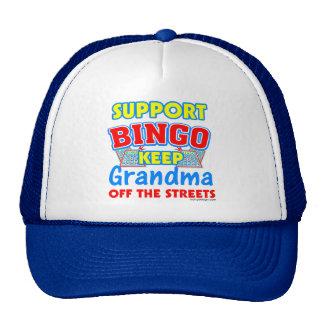 Support Bingo Grandma Trucker Hat