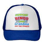 Support Bingo Grandma Mesh Hat