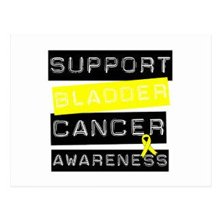 Support Bladder Cancer Awareness Postcard