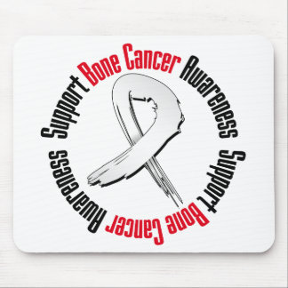 Support Bone Cancer Awareness Mouse Pad