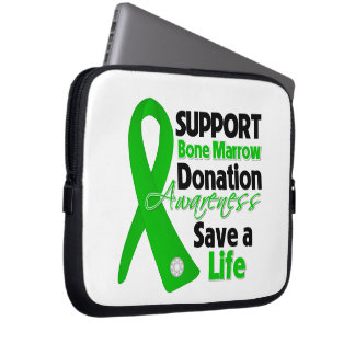 Support Bone Marrow Donation - Save a Life Computer Sleeves