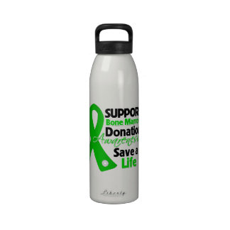 Support Bone Marrow Donation - Save a Life Water Bottle