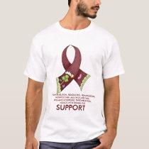 SUPPORT, BRAIN ANEURYSM, HEADACHES, HE... T-Shirt
