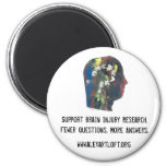 Support Brain Injury Research Magnet