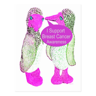 Support Breast Cancer Awareness Postcard
