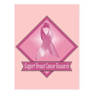 Support Breast Cancer Research Postcard