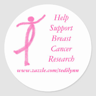 Support Breast Cancer sticker