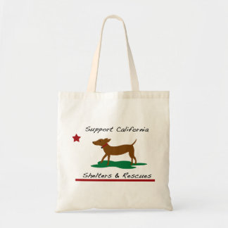 Support California Shelters and Rescues Tote Bag