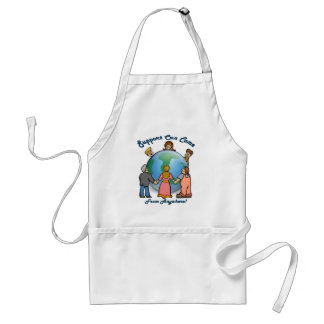 Support Can Come From Anywhere! Adult Apron