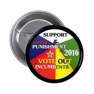 Support Capitol Punishment 2 Inch Round Button