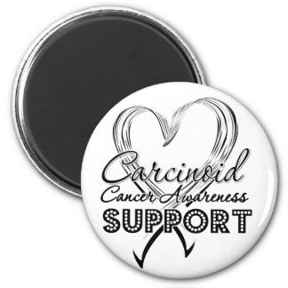 Support Carcinoid Cancer Awareness 2 Inch Round Magnet