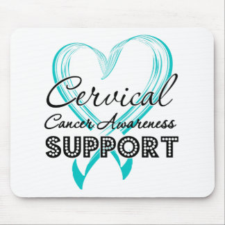 Support Cervical Cancer Awareness Mouse Pad