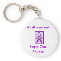 Support Chiari Awareness Keychain