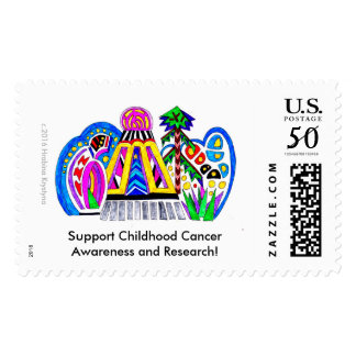 Support Childhood Cancer Awareness and Research!15 Postage