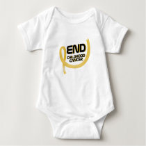 Support Childhood Cancer Awareness Baby Bodysuit