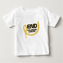 Support Childhood Cancer Awareness Baby T-Shirt