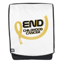 Support Childhood Cancer Awareness Backpack