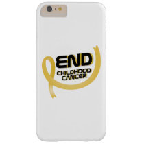 Support Childhood Cancer Awareness Barely There iPhone 6 Plus Case