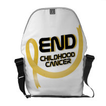 Support Childhood Cancer Awareness Courier Bag