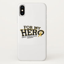 Support Childhood Cancer Awareness iPhone X Case
