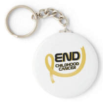 Support Childhood Cancer Awareness Keychain