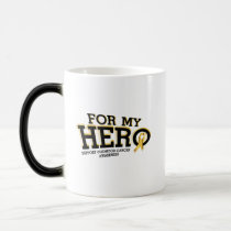 Support Childhood Cancer Awareness Magic Mug