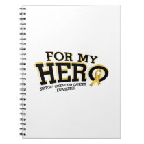 Support Childhood Cancer Awareness Notebook