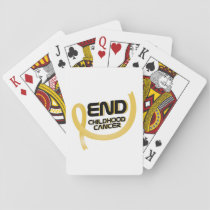 Support Childhood Cancer Awareness Playing Cards