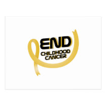 Support Childhood Cancer Awareness Postcard