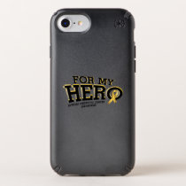 Support Childhood Cancer Awareness Speck iPhone Case