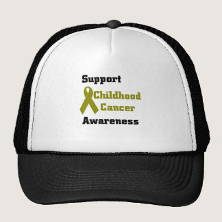 Support Childhood Cancer Awareness Trucker Hat