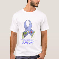 SUPPORT, CHILDHOOD CANCER, PROSTATE CA... T-Shirt