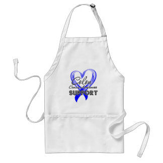 Support Colon Cancer Awareness Aprons