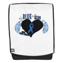 Support Colon Cancer Awareness Backpack
