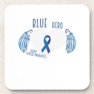 Support Colon Cancer Awareness Beverage Coaster