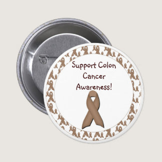 Support Colon Cancer Awareness! Button