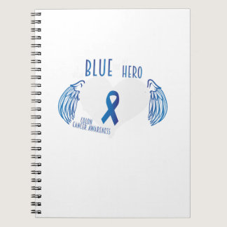 Support Colon Cancer Awareness Notebook