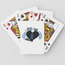 Support Colon Cancer Awareness Playing Cards
