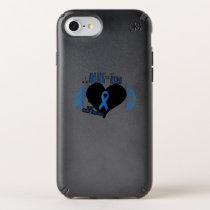 Support Colon Cancer Awareness Speck iPhone Case