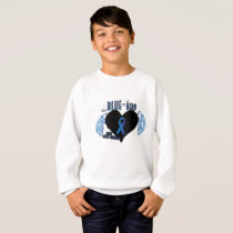Support Colon Cancer Awareness Sweatshirt