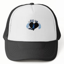 Support Colon Cancer Awareness Trucker Hat