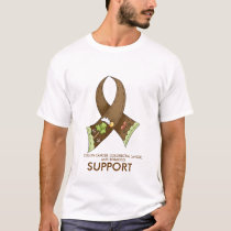SUPPORT, COLON CANCER, COLORECTAL CANC... T-Shirt
